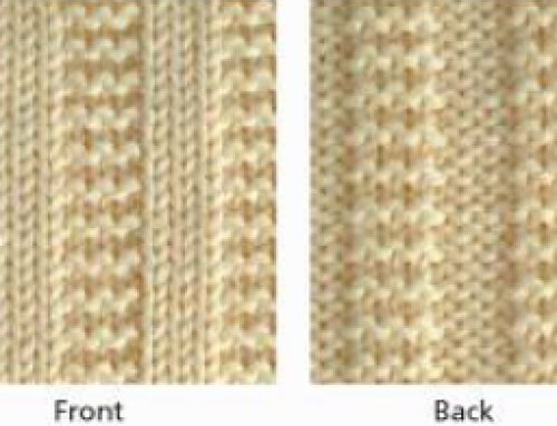 3×3 Garter Stitch Rib